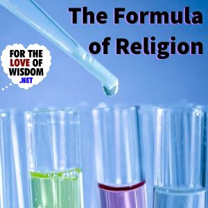 The Formula of Religion